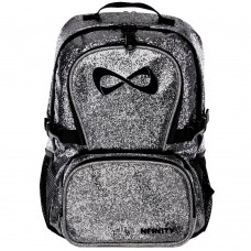 Nfinity Millennial Grey Sparkle Backpack