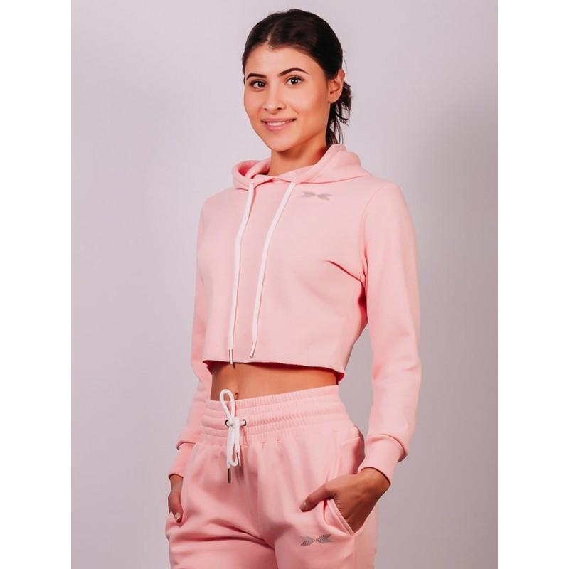 Vanilla Rose Pink Hoodie