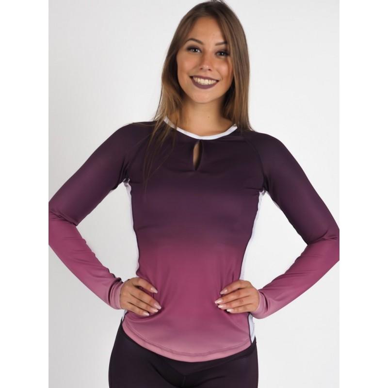 Swedish Fall Longshirt Purple Blush