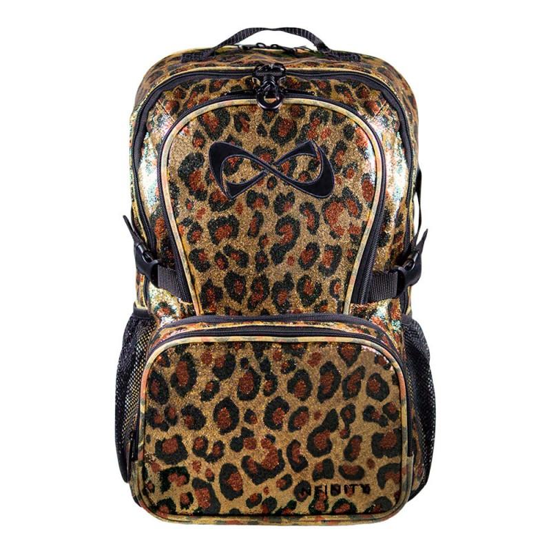 Nfinity Millennial Leopard Backpack