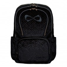 Nfinity Starry Night Velvet Backpack