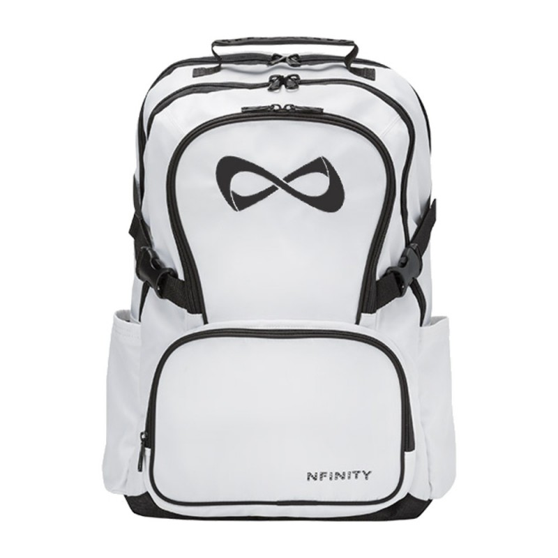 Nfinity Classic White Backpack