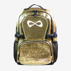 Nfinity Millennial Gold  Sparkle Backpack