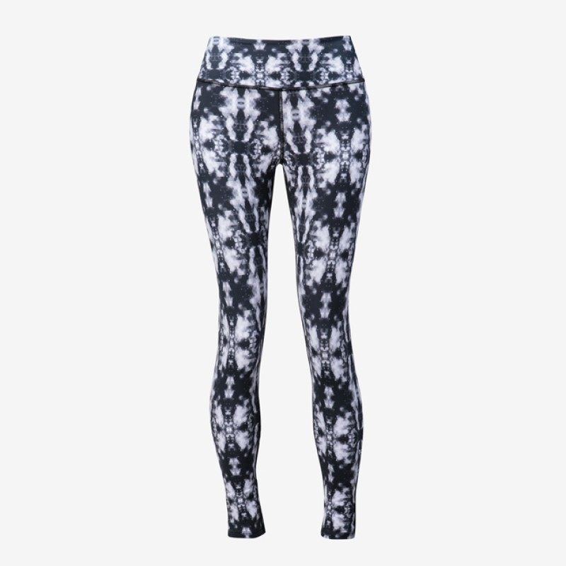 Nfinity Performance Leggings Black/Grey Prism