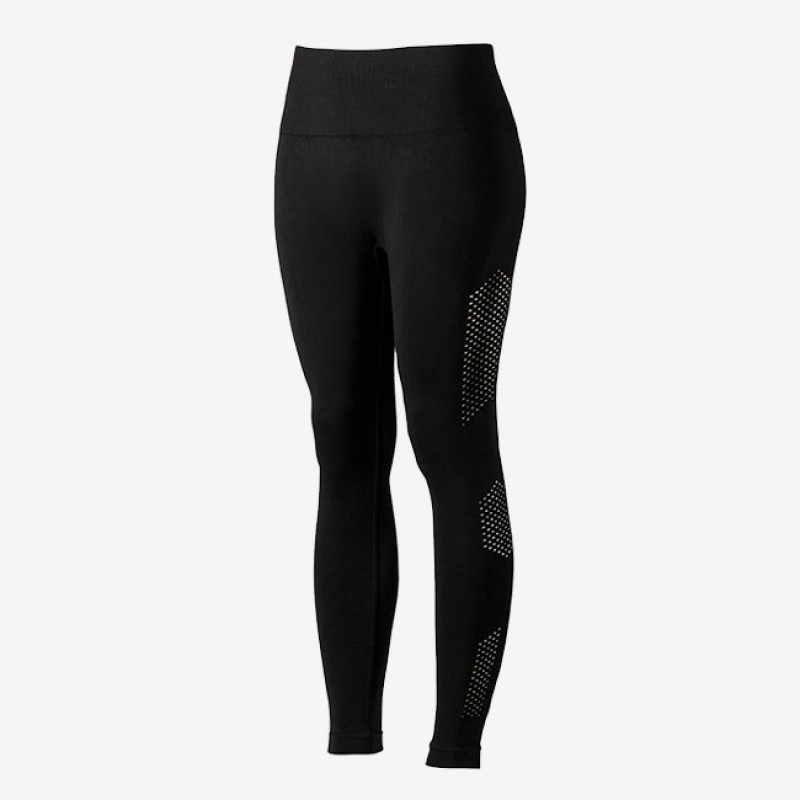 Black Seamless Cutout Leggings