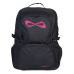 Nfinity Black Sparkle Backpack (Logo Options)