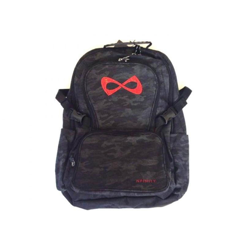 Nfinity Camo Rhinestone Backpack
