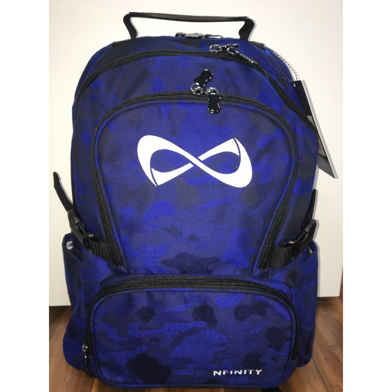 Nfinity Blue Camo Backpack