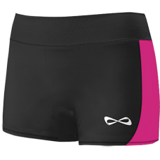 Nfinity Black & Pink Shorts