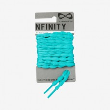 Teal Nfinity Bubble Laces