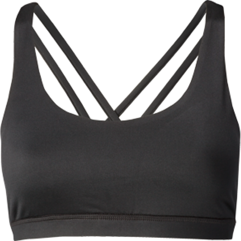 Nfinity Black Cross Back Sports Bra