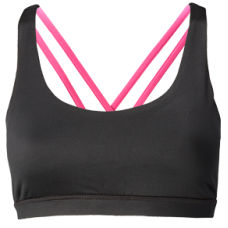 Nfinity Pink Cross Back Sports Bra