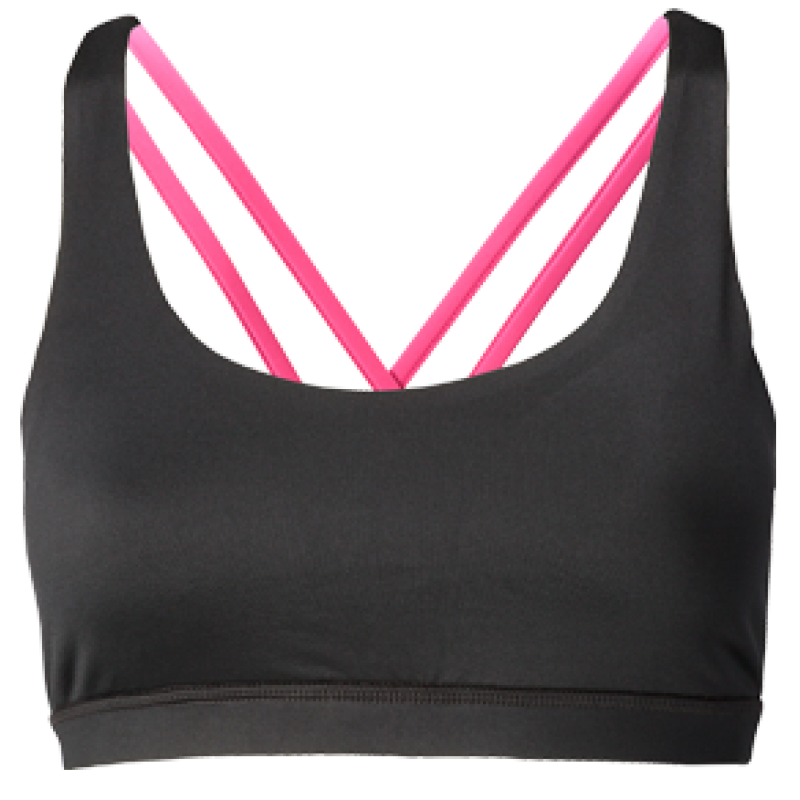 Nfinity Pink Cross Back Sports Bra