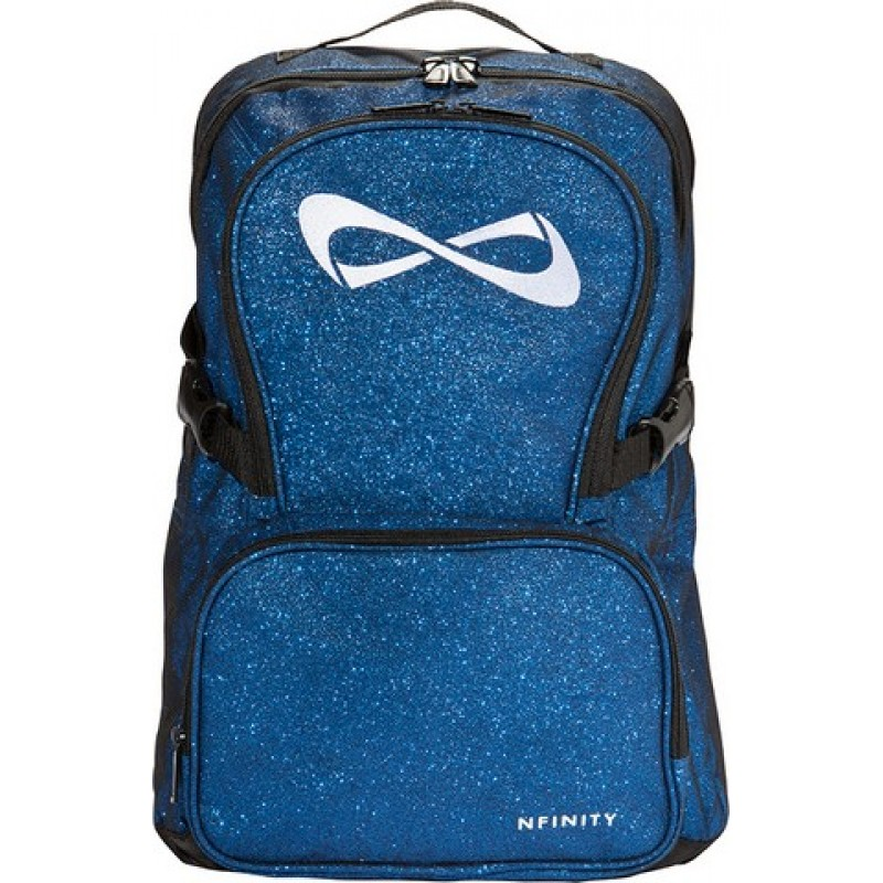 Nfinity Royal Blue Sparkle Backpack